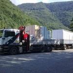 Kranarbeiten in Südtirol/ Bozen